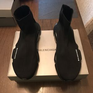 Balenciaga Speed Trainers Black Black